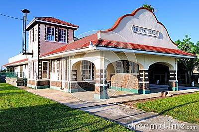 Punta Gorda Florida Train Depot