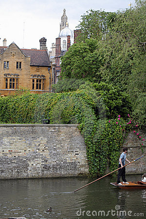 Punting at Cambridge Universit