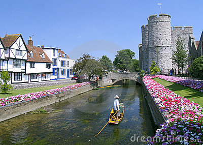Punting em Canterbury