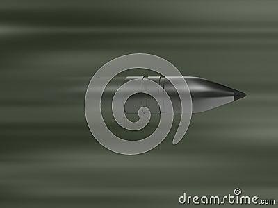Punto negro de plata rápido, tiro del arma, munición, tirando