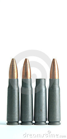 Punto negro gastado del rifle