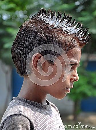 Puntos del pelo
