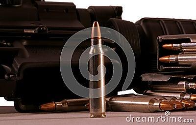 Puntos negros del rifle