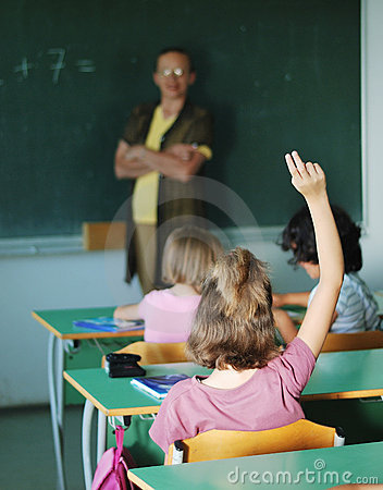 Pupil activities in the classroom