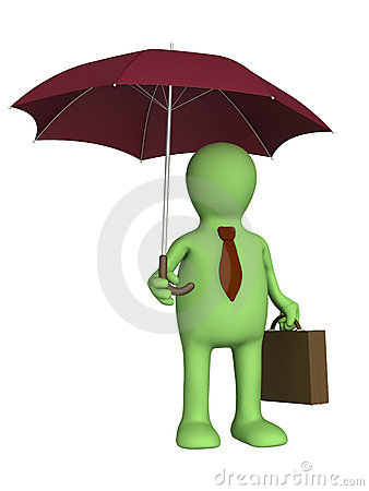 Free Puppet - Businessman Stock Photo - 10022220