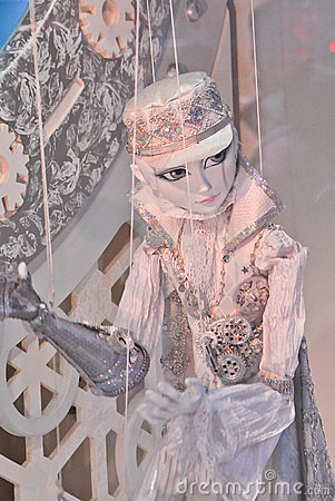 Puppet from Macy s window display Editorial Photography