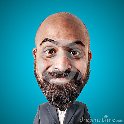 Free Puppet Man With Big Head Royalty Free Stock Photography - 29010417