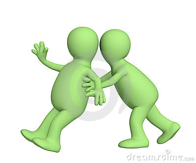 Puppet, pushing partner