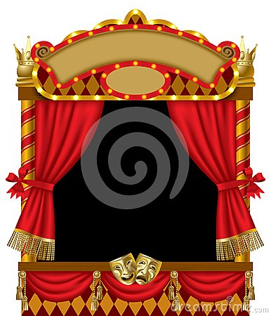 Free Puppet Show Booth Stock Photo - 25632790
