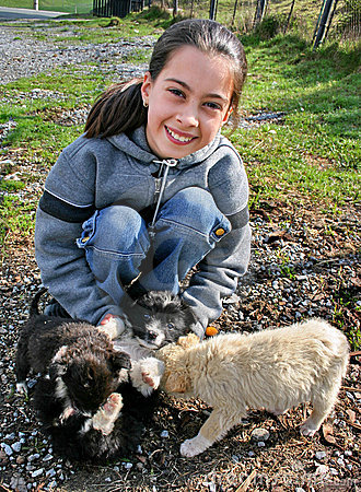 Puppies love