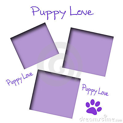 Puppy love scrapbook