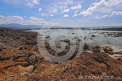 Pupukea tide pools on the north shore of Oahu