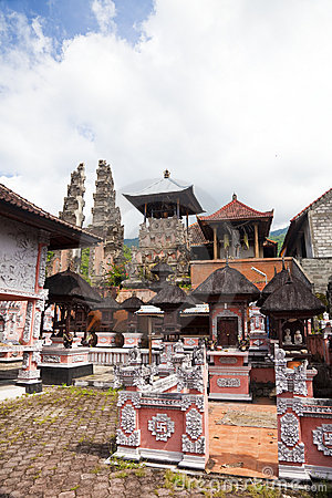 Pura Pasar Agung, Bali, Indonesia