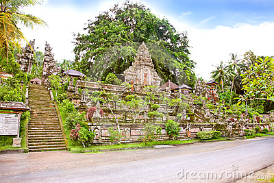 Pura  temple, Bali, Indonesia