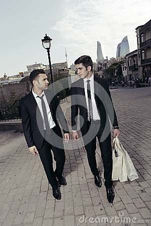 Purchase of businessmen,shopping guys