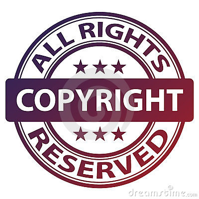 Pure copyright stamp