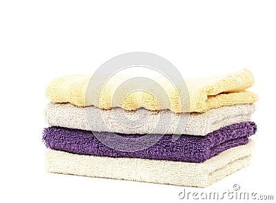 Pure cotton towels
