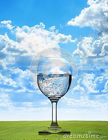 Pure fresh water