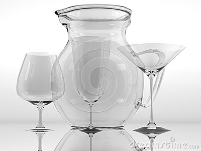 Pure glass collection