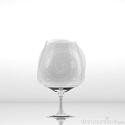 Pure glass for wine or whisky