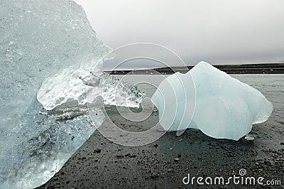 Pure melting ice.