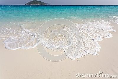 Pure tropical beach