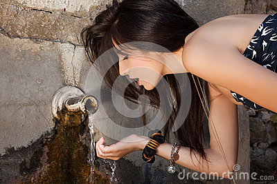 Pure water from a well