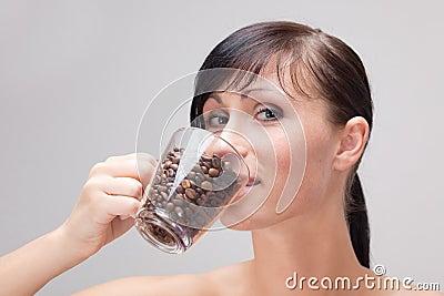 Pure weak coffe taste