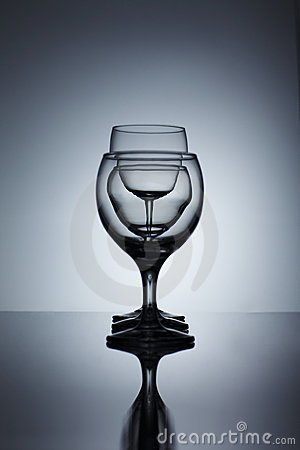 Pure wine glass