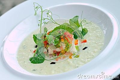 Puree soup
