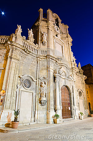 Purgatorio Church in Trapani, Sicily