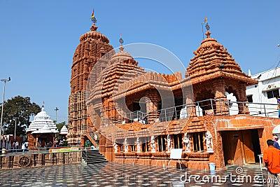 Puri Jagannath Temple, Hyderabad Editorial Photo