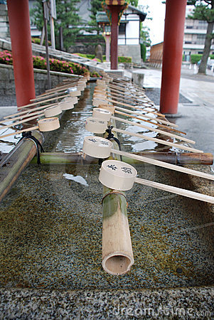 Purification Fountain, Ryoanji Temple