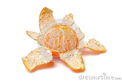 Purified mandarin peel