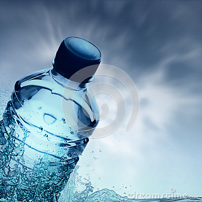 Purified spring water