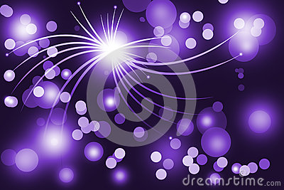 Purple abstract glowing background