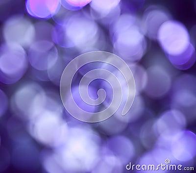 Purple Abstract Lights