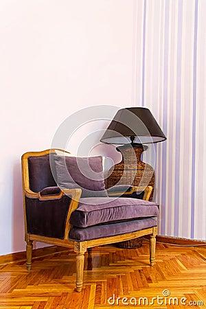 Purple armchair 2
