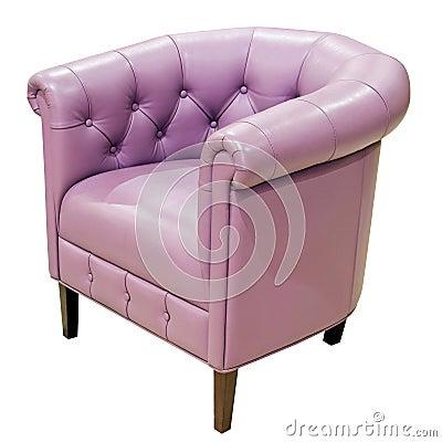 Free Purple Armchair Royalty Free Stock Photos - 8168498