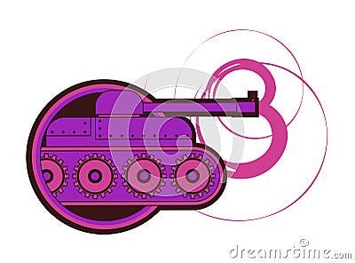 Purple attack