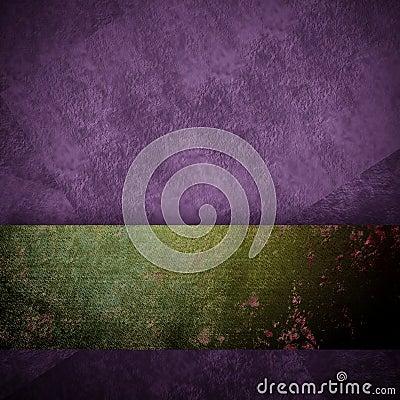 Purple background black design with vintage grunge background