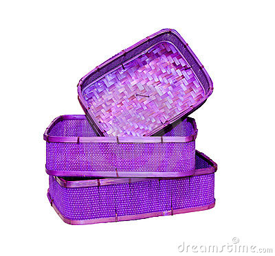 Free Purple Baskets Royalty Free Stock Images - 16955989