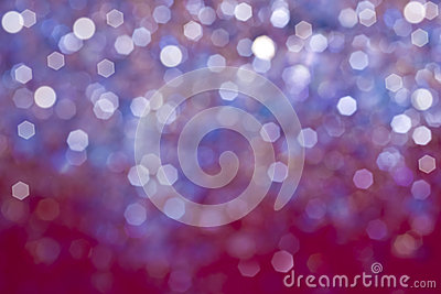 Purple bokeh abstract light background