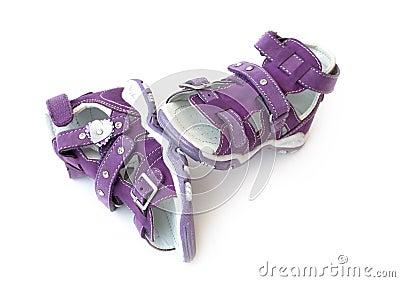Purple Children s sandals