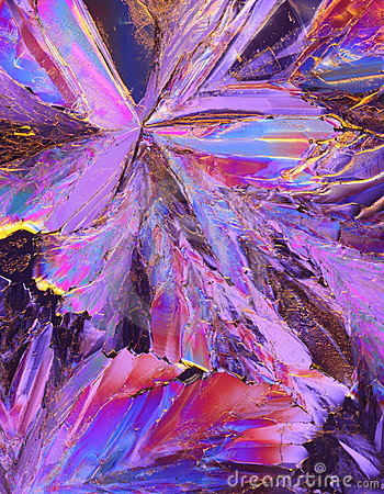 Free Purple Citric Acid Crystals Royalty Free Stock Photo - 7872965