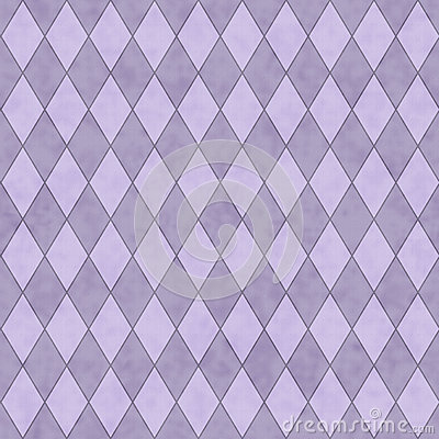 Purple Diamond Shape Fabric Background