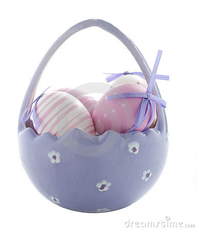 Free Purple Easter Eggs Royalty Free Stock Images - 23798919