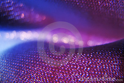 Purple fabric abstract