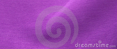 Purple fabric with folds