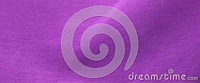 Purple fabric with folds